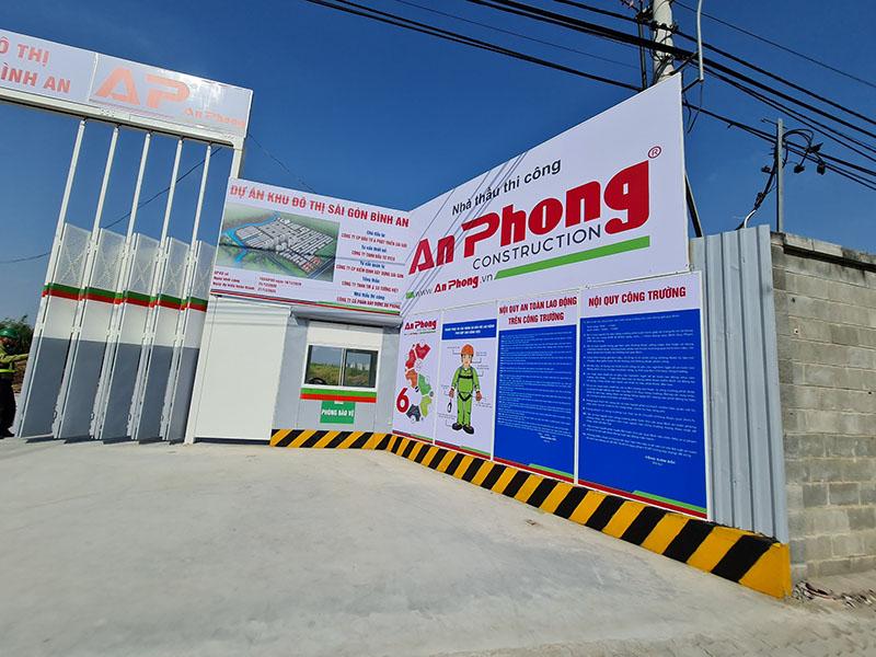 Công trình dự án Sài Gòn Bình An