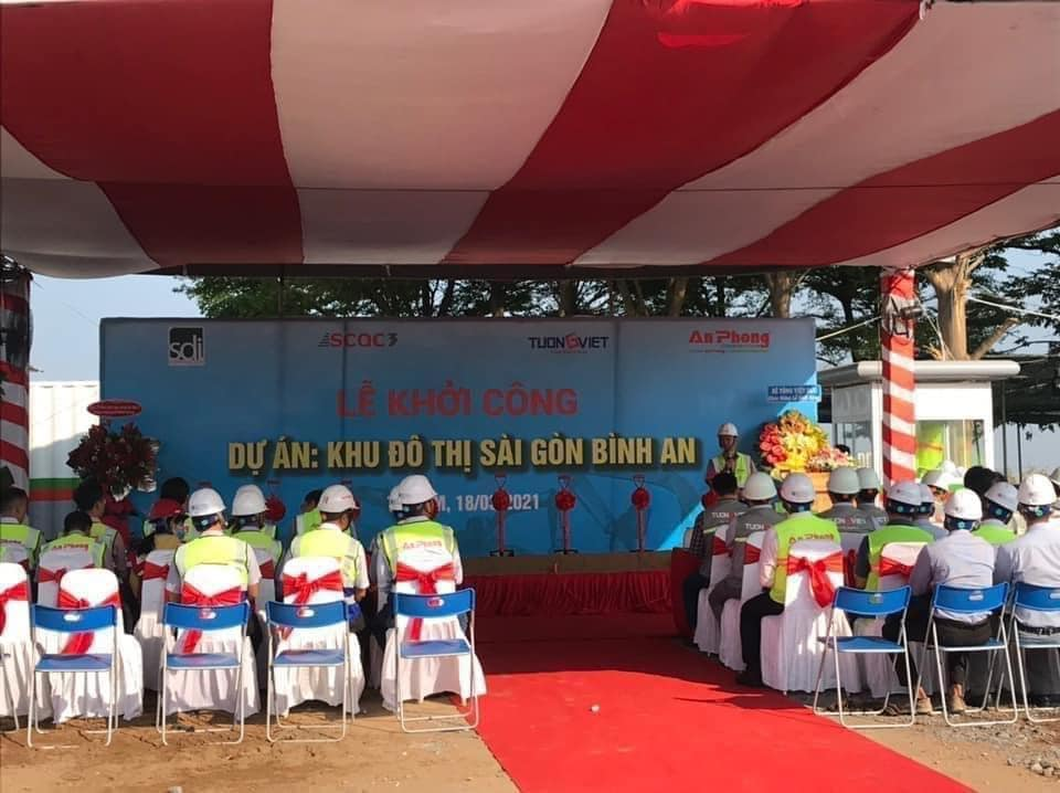 Lễ khởi công dự án Sài Gòn Bình An - Him Lam City