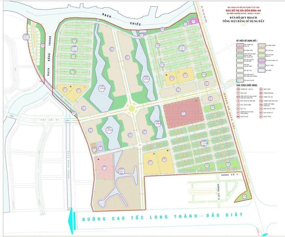 Quy hoạch Sài Gòn Bình An - Him Lam City